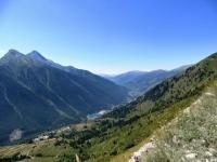 Panorama sulla Val Chisone percorrendo la strada dell'Assietta