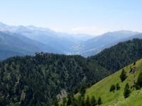 Strada dell'Assietta, panorama sul Colle Sestriere