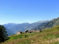 Salita a Pian dell'Alpe, panorama