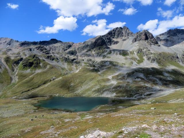 Passo Suvretta e relativo lago