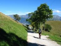 Pian della Fontana, in direzione dell'Alpe Muscera