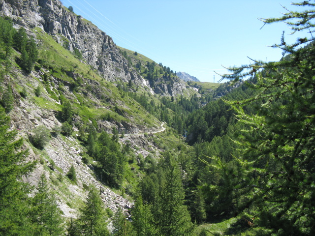 Vallone dell'Urtier, panorama