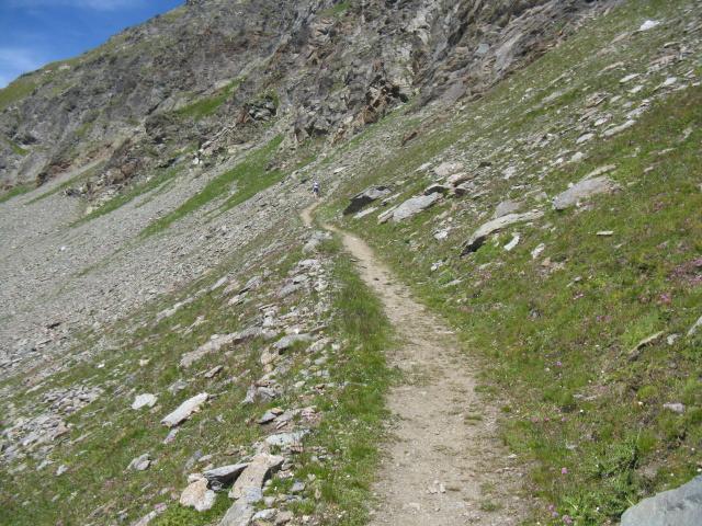 Sentiero che conduce alla finestra di Champorcher
