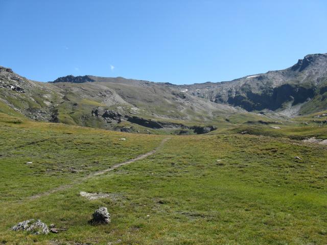 Nelle vicinanze del rifugio Dondena, panorama