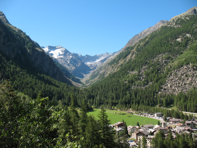 Lillaz, Valeille e ghiacciaio delle Sengie