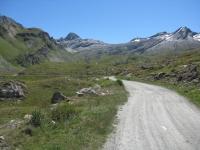 In direzione dell'Alpe Peradzà dall'Alpe Tsavanis
