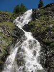 Vallone dell'Urtier, cascata