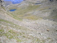 Single track in discesa dalla finestra di Champorcher
