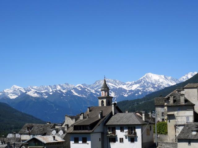 Craveggia, panorama sulle Alpi