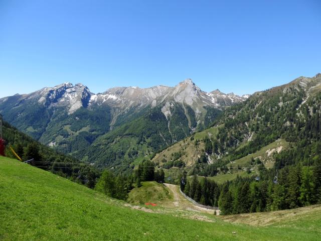 Panorama dalla Piana di Vigezzo