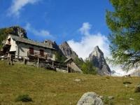 Nei pressi dell'Alpe Solcio