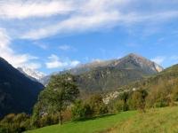 Salita in direzione dell'abitato di Durogna, panorama