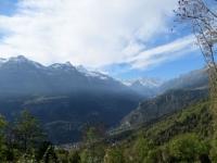 Panorama sulla vallata di Varzo