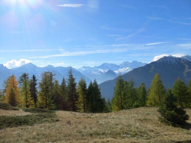 Tra l'Alpe Marsasca e l'Alpe Coatè, panorama (al centro il