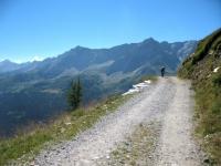 Alta via della Val Bedretto - inizio sterrato