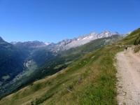 Alta via della Val Bedretto - panoramica Val Bedretto