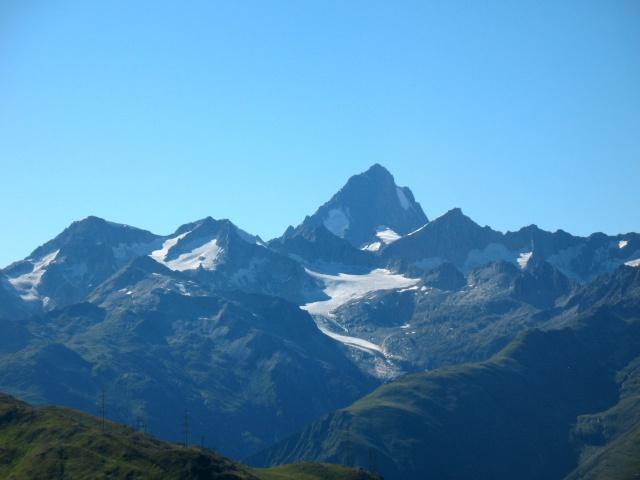 Passo della Novena - panorama sull'Oberland - Finsteraarhorn