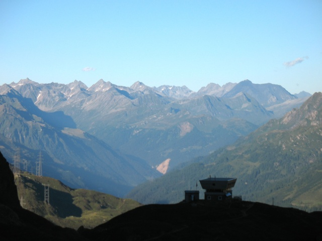Capanna Corno - panorama