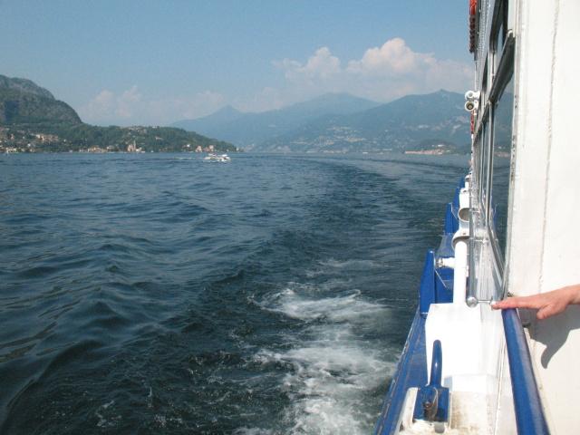 Lago di Como - Vista da battello