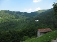 Monte Ponciv e Alpe del Borgo dal rifugio Martina
