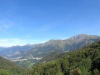 Panorama su Valsassina  da Culmine S.Pietro