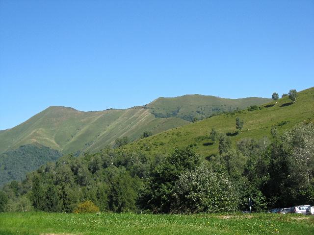 Monte San Primo e Monte Ponciv dalla Colma di Sormano
