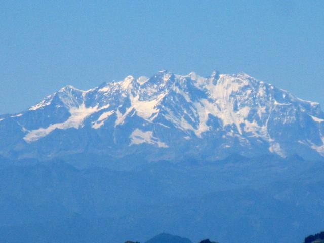 Le Alpi dalla vetta del San Primo - Monte Rosa