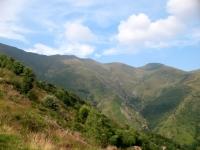 Discesa verso Ambresello-Vraghez - panorama