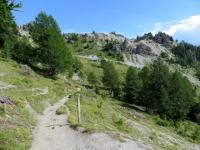 In direzione di Varneralp west