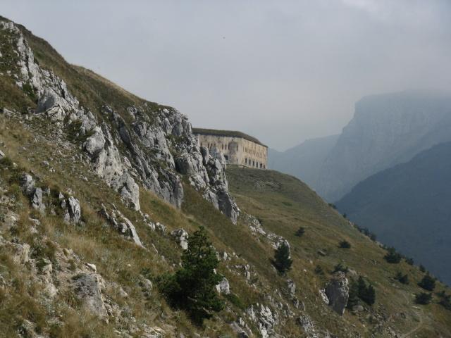 Colle di Tenda, fortificazione militare del Fort Central