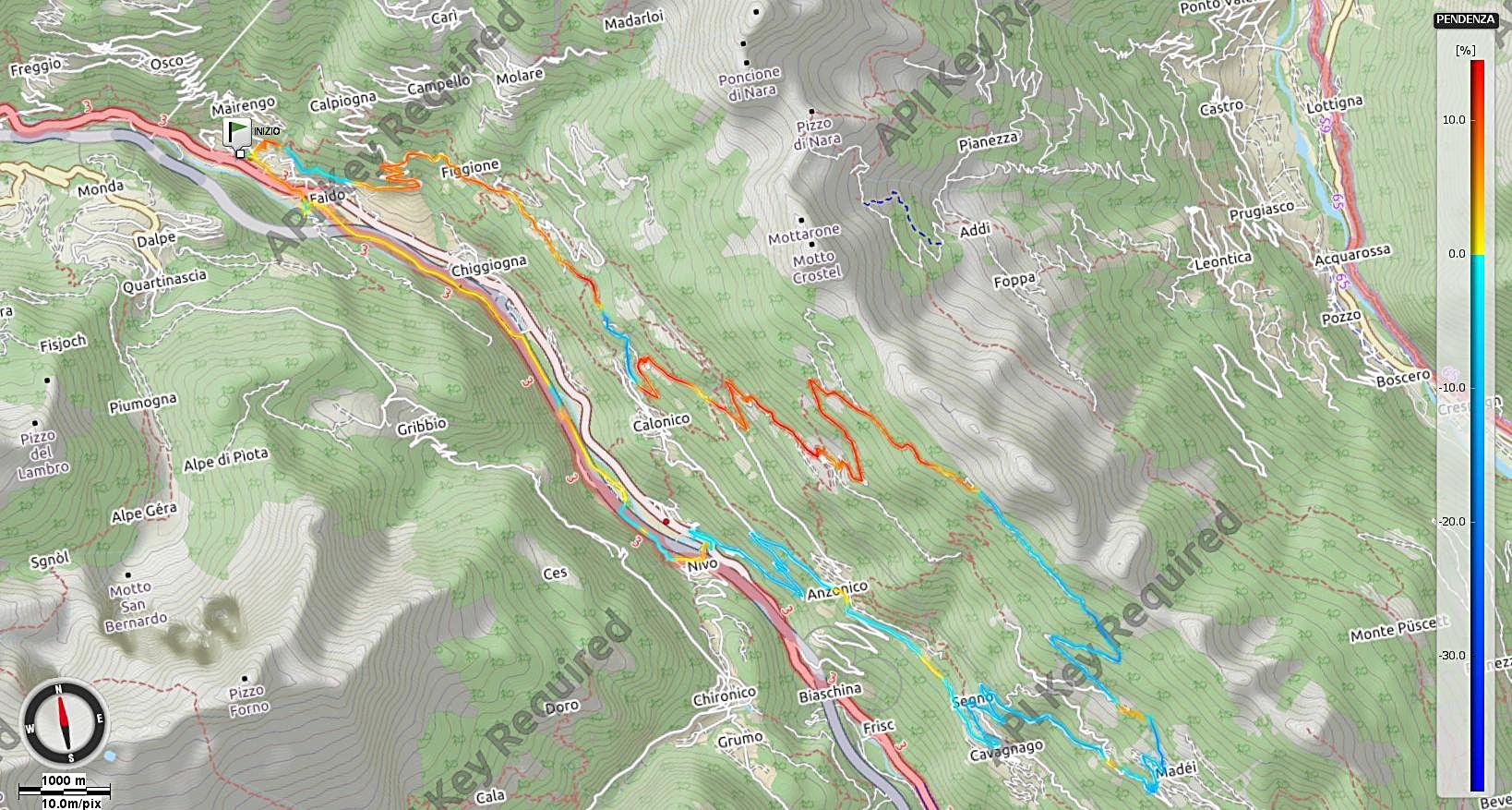 Alpe Foppascia Pendenze