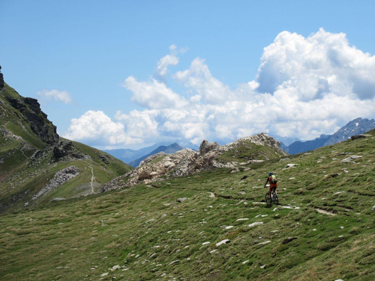 Sentiero per il Col du Salvè