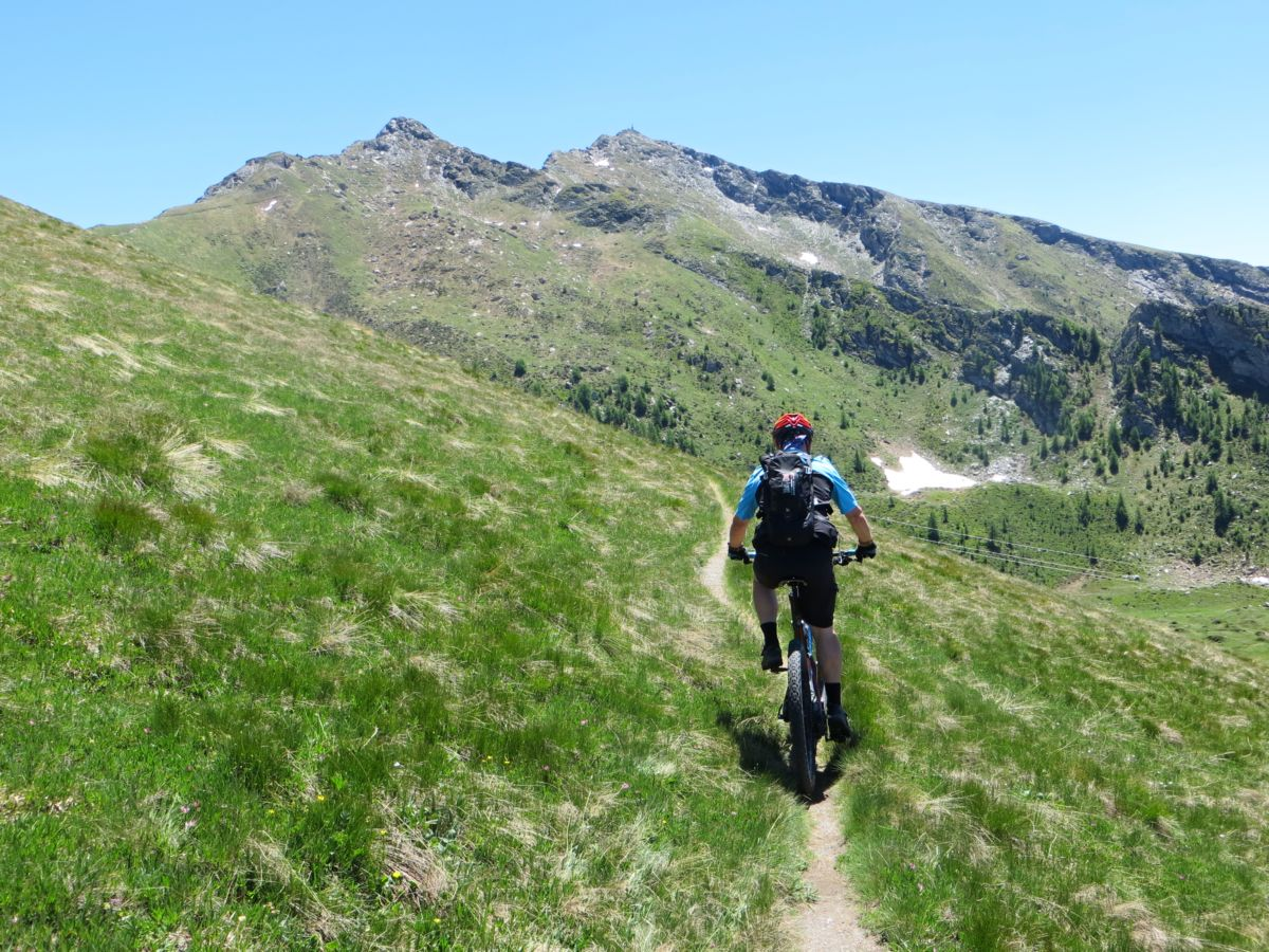 Single track per il Col Portola