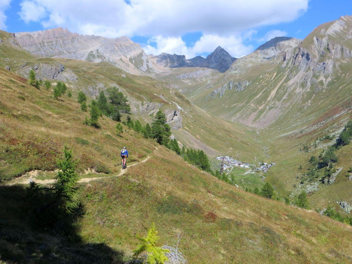 Trail in direzione di Bachalp