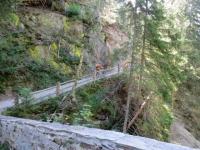 Binntal, attraversamento del ponte romano sul torrente Binna