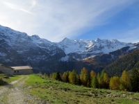 Arrivo all'Alpe Piota