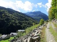 Interpoderale della Val Sorba, uno dei diversi alpeggi che si incontrano entrando nella vallata