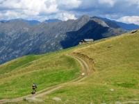 In direzione dell'Alpe Pizzo