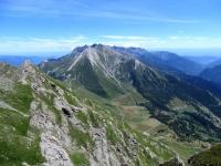 Panorama dalla Cima Ciantiplagna - Colle delle Finestre