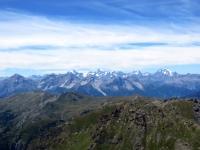 Panorama dalla Cima Ciantiplagna - Massiccio degli Ecrins