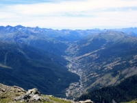 Panorama dalla Cima Ciantiplagna - Val Chisone