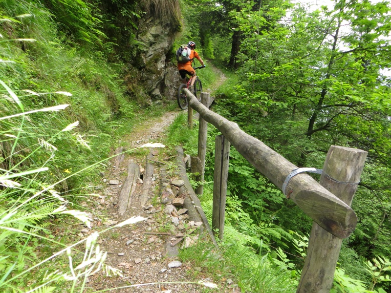 Sentiero dopo Pianturino che attraversa la omonima valle