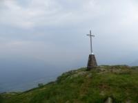 Cima di Medeglia - La croce posta sulla sommità