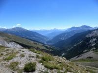 L'alta Val Susa ed il vallone della Rho visti da Pian dei morti