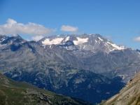 Il Massiccio Gébroulaz (Francia - Savoia) visto dal Colle della Rho