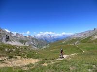 Parte finale del sentiero che conduce al Colle di Valle Stretta