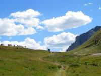 Arrivo al Colle di Valle Stretta