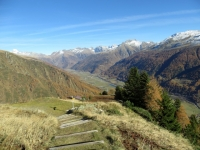 Panorama sull'Obergoms dalla Galmihornhütte
