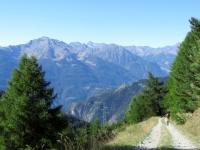 Salita all'Alpe Champ Chellier Superiore