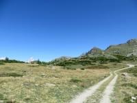 Arrivo all'Alpe Champlong